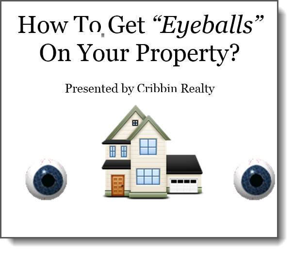 Eyeballs on property book cover